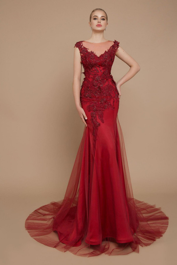 20-V-002 Adeline in Evening Couture 2020